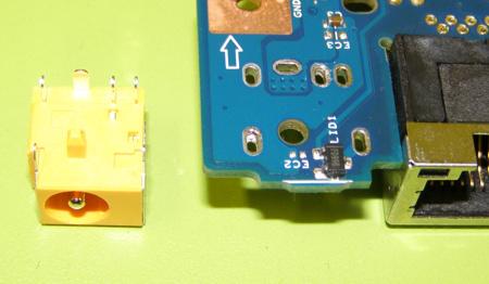 Reparaciones de la toma de corriente